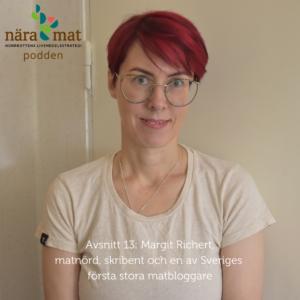 Margit Richert i Nära Mat podden