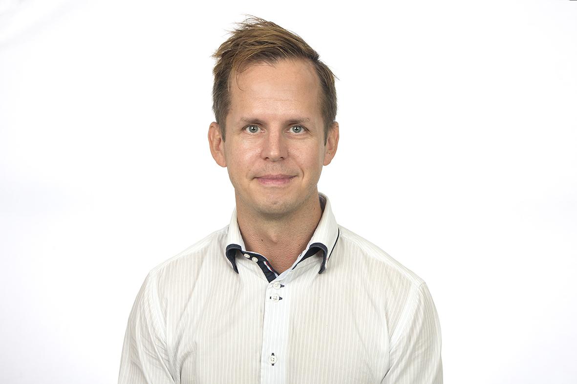 Porträtt av Mattias Vesterlund