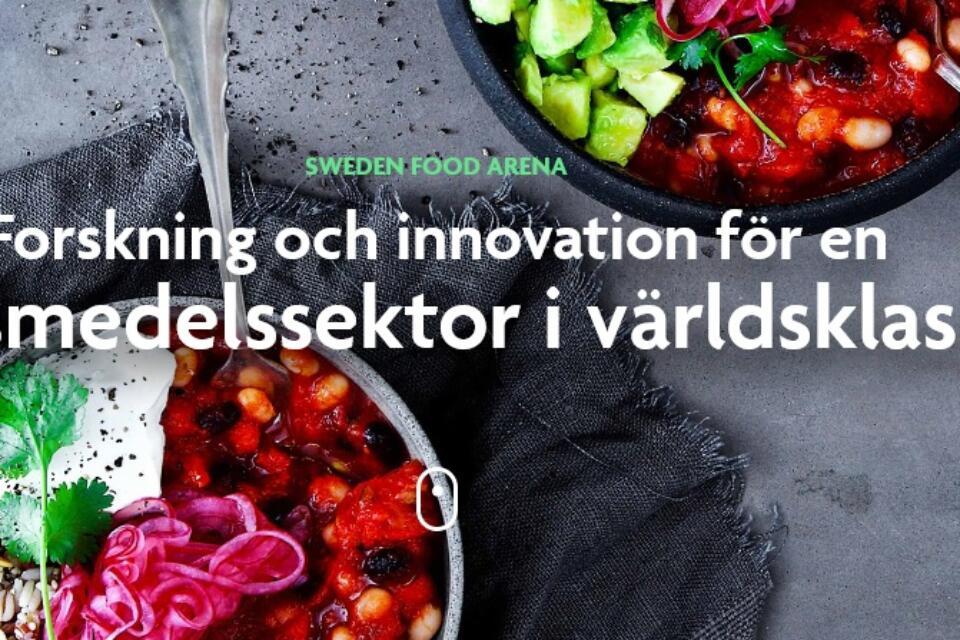 Sweden food arena måltider på tallrikar