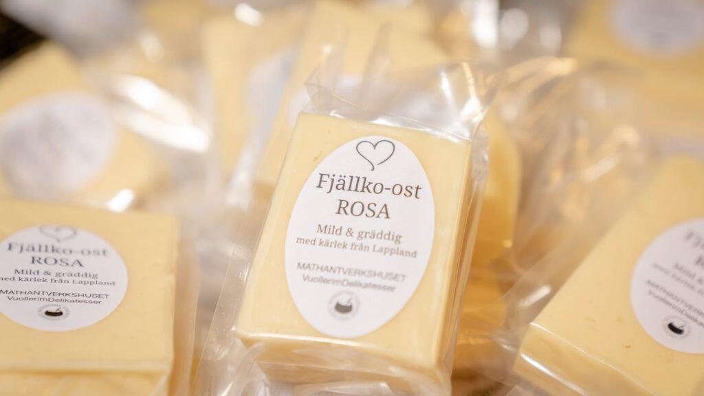 Fjällko-ost från Mathantverkshuset VuollerimDelikatesser